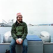 HOMER, AK - 2008: Anchorage, Alaska based photographer Loren Holmes.