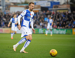 Chris Lines of Bristol Rovers - Mandatory by-line: Neil Brookman/JMP - 18/11/2017 - FOOTBALL - Memorial Stadium - Bristol, England - Bristol Rovers v AFC Wimbledon - Sky Bet League One