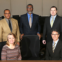 Front Row, seated: Sherry Davis, Vice President and Rob Hudson, Secretary.<br /> Back Row: Kenneth Wheeler, Board Member, Eddie Prather, President and Joe Babb, Board Member.
