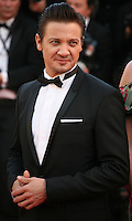 Actor Jeremy Renner at The Immigrant film gala screening at the Cannes Film Festival Friday 24th May May 2013