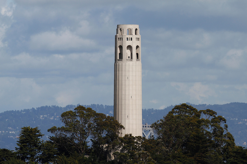 A view of coit tower in San Francisco.Mandatory Credit: Dinno Kovic / Dinno Kovic Photography