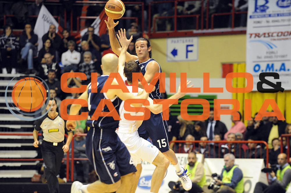 DESCRIZIONE : Forli LNP Lega Nazionale Pallacanestro Serie A Dilettanti 2009-10 Vemsistemi Forli Fortitudo Bologna<br /> GIOCATORE : Gennaro Sorrentino<br /> SQUADRA : Fortitudo Bologna<br /> EVENTO : Lega Nazionale Pallacanestro 2009-2010 <br /> GARA : Vemsistemi Forli Fortitudo Bologna<br /> DATA : 29/11/2009<br /> CATEGORIA : passaggio<br /> SPORT : Pallacanestro <br /> AUTORE : Agenzia Ciamillo-Castoria/M.Marchi<br /> Galleria : Lega Nazionale Pallacanestro 2009-2010 <br /> Fotonotizia : Forli LNP Lega Nazionale Pallacanestro Serie A Dilettanti 2009-10 Vemsistemi Forli Fortitudo Bologna<br /> Predefinita :