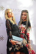 BEIJING, CHINA - OCTOBER 27: (CHINA OUT) <br /> <br />  Paris Hilton And Angie Chiu Promote Jolly One In Beijing<br /> <br /> American model, singer and actress Paris Hilton (L) attends the activity of Jolly One on October 27, 2015 in Beijing, China.<br /> ©Exclusivepix Media