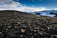 66 North trip. Hiking Hvannadalshnúkur, Icelands highest peak at 2110m.