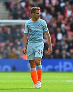 Cesar Azpilicueta (28) of Chelsea during the Premier League match between Southampton and Chelsea at the St Mary's Stadium, Southampton, England on 7 October 2018.