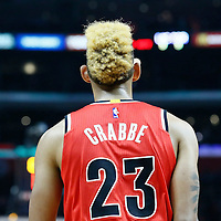 09 November 2016: Portland Trail Blazers guard Allen Crabbe (23) is seen during the LA Clippers 111-80 victory over the Portland Trail Blazers, at the Staples Center, Los Angeles, California, USA.