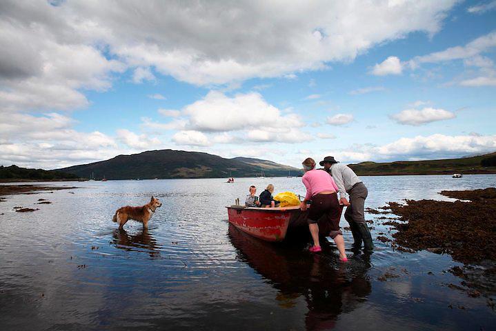Isleornsay. Isla de Skye. Scotland.