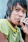Local Burmese fishermen.