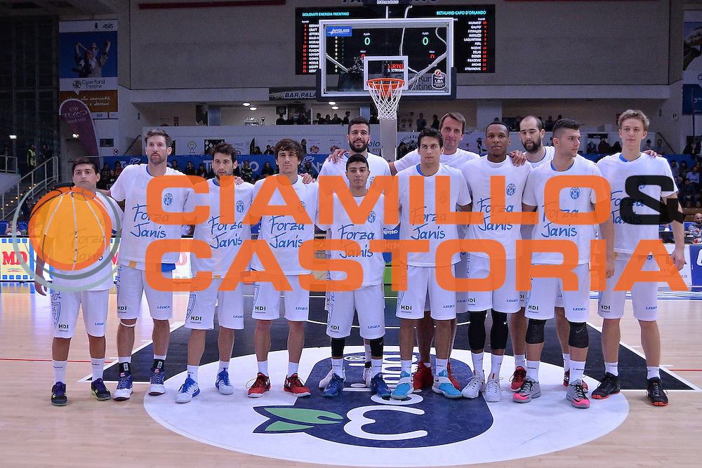 Betaland Capo D'Orlando<br /> Dolomiti Energia Trentino - Betaland Capo D'Orlando<br /> Lega Basket Serie A 2016/2017<br /> Venezia 23/10/2016<br /> Foto Ciamillo-Castoria