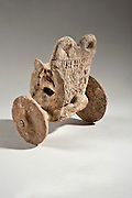 A Syro-Hittite Terracotta chariot 2000 BCE