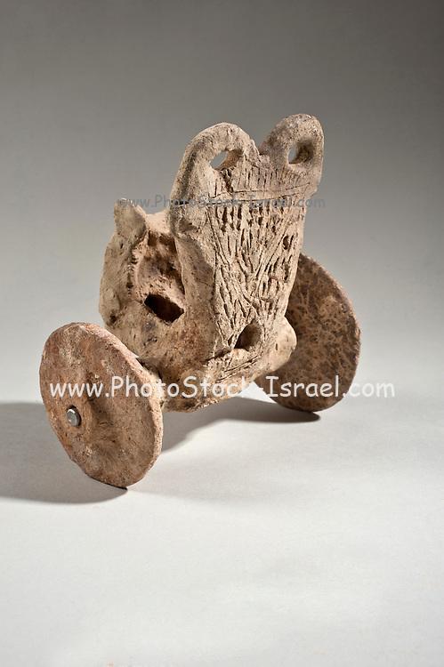 A Syro-Hittite Terracotta chariot 2000 BCE