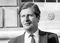 James Stronge, Ulster Unionist member of N Ireland Assembly. Murdered by IRA along with his father, Sir Norman Stronge in 1981. Sir Norman was a former speaker of the old N Ireland Parliament at Stormont. N Ireland Troubles. Assasination victim. Ref: 197307117<br /> <br /> Copyright Image from Victor Patterson, 54 Dorchester Park, Belfast, UK, BT9 6RJ<br /> <br /> t: +44 28 90661296<br /> m: +44 7802 353836<br /> vm: +44 20 88167153<br /> e1: victorpatterson@me.com<br /> e2: victorpatterson@gmail.com<br /> <br /> For my Terms and Conditions of Use go to www.victorpatterson.com