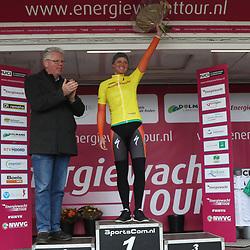 07-04-2016: Wielrennen: Energiewachttour vrouwen: Winsum<br /> WINSUM (NED) wielrennen <br /> De tweede etappe in de Energiewacht rond Winsum werd door de wind een zware etappe. Chantal Blaak is de nieuwe leidster in de Energiewachttour