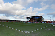 General view of the ground during the EFL Sky Bet League 1 match between Lincoln City and Tranmere Rovers at Sincil Bank, Lincoln, United Kingdom on 14 December 2019.