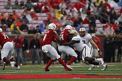 The University of Louisville hosted Boston College, Saturday, Oct. 24, 2015 at Papa John's Cardinal Stadium in Louisville. Photo by Jonathan Palmer