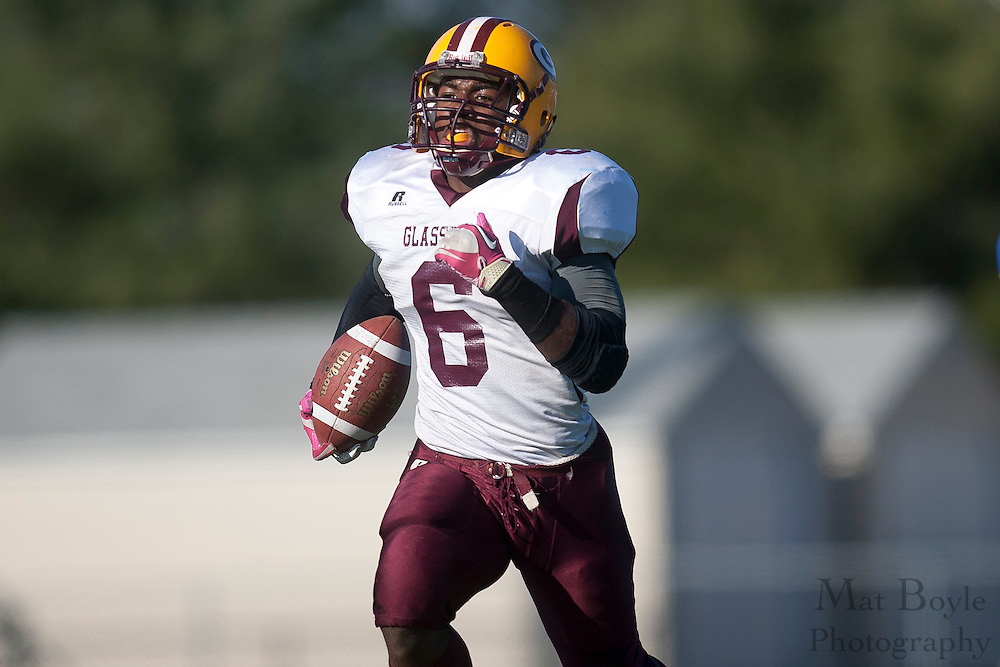 Glassboro High School's Corey Clement (6)..NJSIAA South Jersey Group 1 Title match between Pennsville High School and Glassboro High School held at Coach Richard Wacker Stadium on the campus of Rowan University in Glassboro, NJ on Saturday, December 3, 2011. (photo: Mat Boyle)