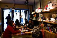 Mavra Cafe, Galata, Istanbul, Turkey