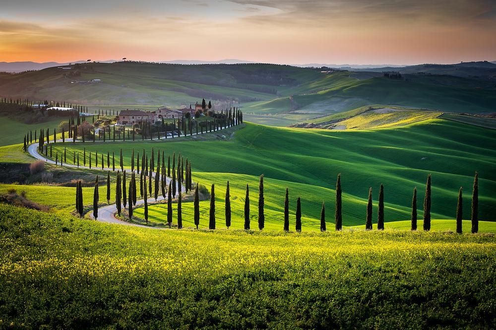 Crete Senesi near Asciano, Tuscany