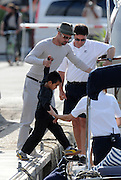 13.MAY.2008. ST JEAN CAP FERRAT<br /> <br /> BRAD PITT, ANGELINA JOLIE AND THEIR CHILDREN ON HOLIDAY IN ST JEAN CAP FERRAT, FRANCE<br /> <br /> BYLINE: EDBIMAGEARCHIVE.COM<br /> <br /> *THIS IMAGE IS STRICTLY FOR UK NEWSPAPERS AND MAGAZINES ONLY*<br /> *FOR WORLD WIDE SALES AND WEB USE PLEASE CONTACT EDBIMAGEARCHIVE - 0208 954 5968*
