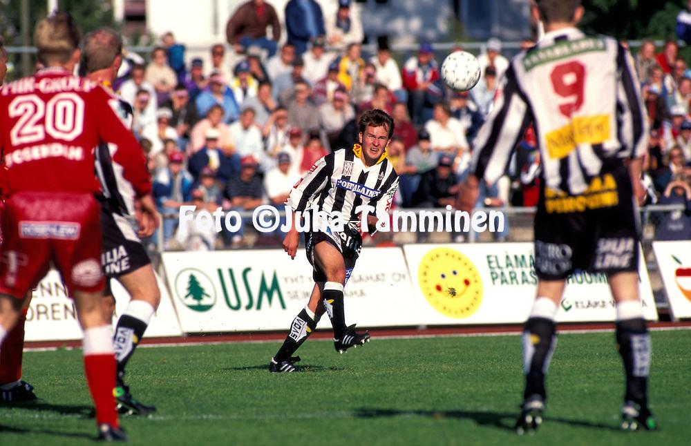 07.07.1996.Juha Karvinen - Vaasan Palloseura.©Juha Tamminen