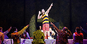 The Mad Hatter's Tea Party <br /> by Zoo Nation<br /> directed by Kate Prince<br /> presented by Zoo Nation, The Roundhouse & The Royal Opera House<br /> at The Roundhouse, London, Great Britain <br /> rehearsal <br /> 29th December 2016 <br /> <br /> Tommy Franzen as Ernest <br /> <br /> <br /> <br /> <br /> Photograph by Elliott Franks <br /> Image licensed to Elliott Franks Photography Services