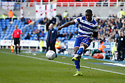 Yakou Meite (19) of Reading during the EFL Sky Bet Championship match between Reading and Preston North End at the Madejski Stadium, Reading, England on 19 October 2019.