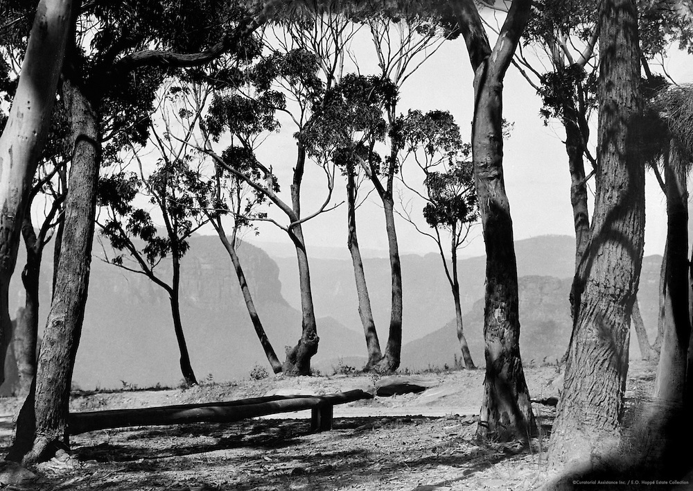 Govetts Leap, Blue Mountains, New South Wales, Australia, 1930