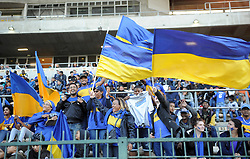 Cape Town-180224 Cape Town City fans during the  PSL game in Athlone against Wits Picture Ayanda Ndamane/African News Agency/ANA