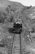 Locomotive at Barrow Colliery, Worsbrough Bridge. National Coal Board Barnsley Area. 19-06-1985.