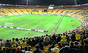 General view during the Round 22 A-League football match - Wellington Phoenix V Adelaide United at Westpac Stadium, Wellington. Saturday 5th March 2016. Copyright Photo.: Grant Down / www.photosport.nz