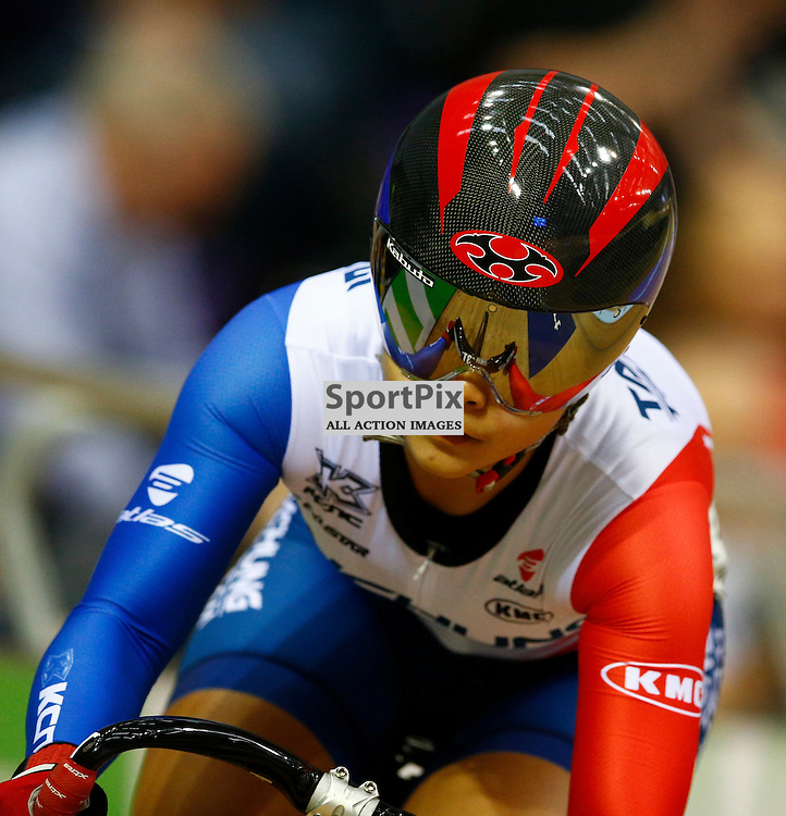 UCI Track Cycling World Cup Glasgow 4th - 6th November 2016. .Tzu Chun Wang in the qualifying session for Women's sprint qualifying.....(c) STEPHEN LAWSON | SportPix.org.uk
