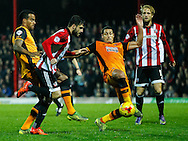 Marco Djuricin of Brentford during the Sky Bet Championship match between Brentford and Hull City at Griffin Park, London<br /> Picture by Mark D Fuller/Focus Images Ltd +44 7774 216216<br /> 03/11/2015