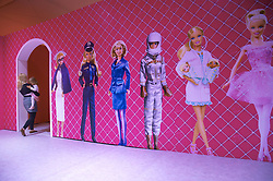 59653031 .Inside the Barbie Exhibition in Berlin. Several Hundred Activists  demonstrated against the Role-image by Barbie by Women on Beauty Slenderness and Consumption, Berlin, Germany, May 16, 2013.   Photo by: imago / i-Images. UK ONLY