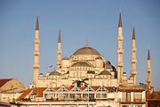 "Istanbul. Sultan Ahmed Mosque (""Blue Mosque"", Sultanahmet Camii)."