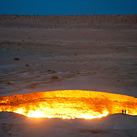A Soviet mining accident from the 1970s has left a crater that has been burning for decades.