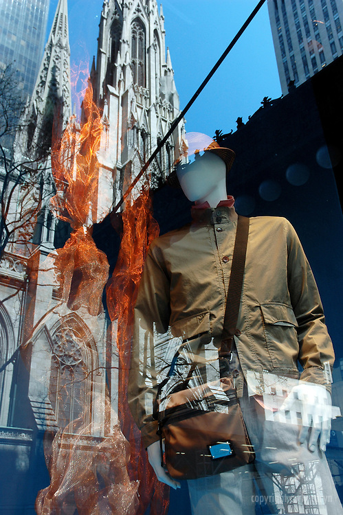 Saks Fifth Avenue, spring menswear messenger