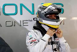 Motorsports / Formula 1: World Championship 2011, Test Valencia,  Nico Rosberg (GER, Mercedes GP Petronas), Helm, helmet