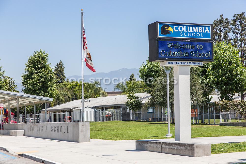 Columbia Elementary School in El Monte