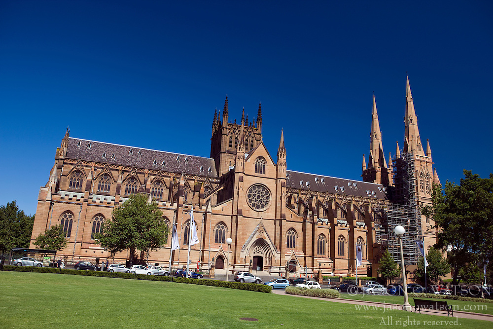 St. Mary's Cathedral, Sydney, New South Wales, Australia