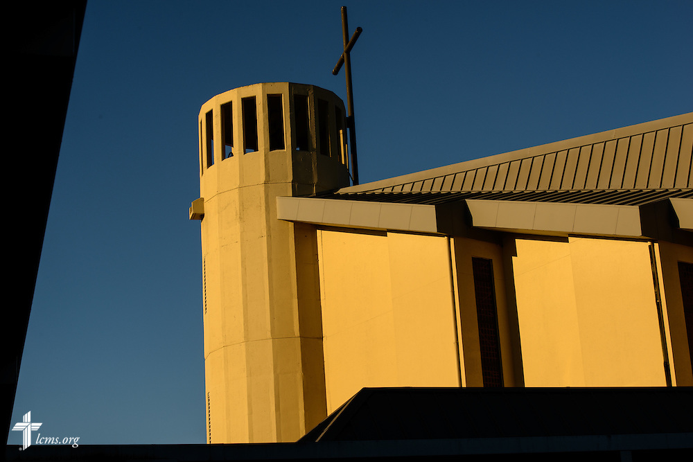 The sun rises over St. Luke's Lutheran Church on Sunday, March 6, 2016, in Oviedo, Fla. LCMS Communications/Erik M. Lunsford