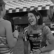 Nicole Mees started riding motorcycles at age four, and takes exxtra time to be a role model for any young female fans.