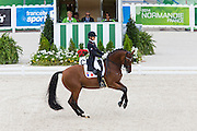 Jessica Michel - Riwera de Hus<br /> Alltech FEI World Equestrian Games™ 2014 - Normandy, France.<br /> © DigiShots