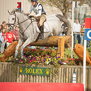 Lynn Symansky (USA) and No It Tissant at the 2007 Rolex Kentucky Three-Day Event in Lexington, Kentucky.