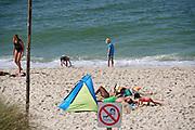 Sylt, Germany. Hörnum. The beach.