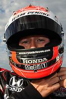 Ryan Briscoe, Road Runner Turbo Indy 300, Kansas Speedway, Kansas City, KS USA  5/1/2010