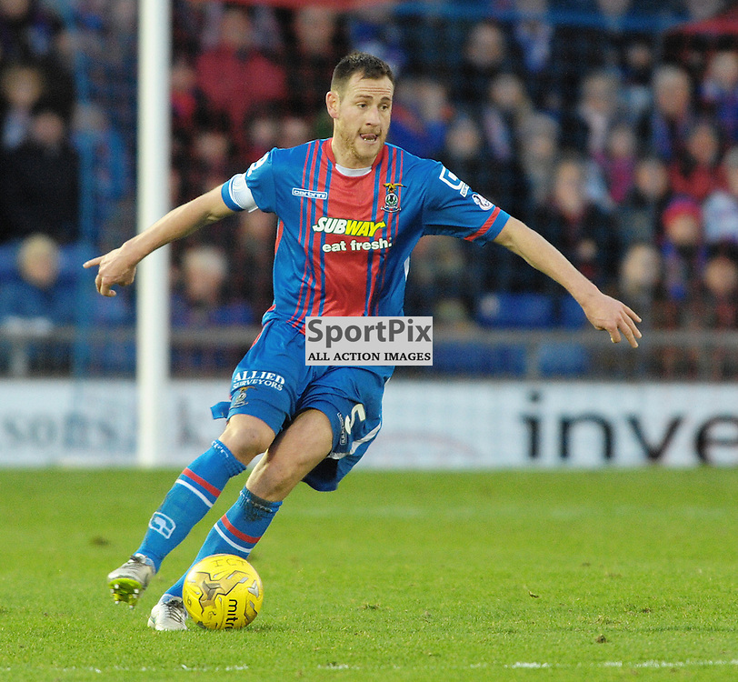 Gary Warren (ICT, Blue &amp; Red) <br /> <br /> Inverness Caledonian Thistle v Ross County, Ladbroke's Premiership, Saturday 2nd January 2016<br /> <br /> (c) Alex Todd | SportPix.org.uk