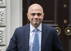 © Licensed to London News Pictures. 29/06/2016. London, UK. Business Secretary SAJID JAVID leaves a press conference  where it was announced that Stephen Crabb is running for party leader on June 29, 2016. Contenders to succeed David Cameron have until noon on Thursday to come forward, with a winner expected to be announced by 2 September.  Photo credit: Peter Macdiarmid/LNP
