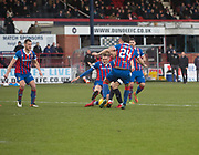 20th January 2018, Dens Park, Dundee, Scotland; Scottish Cup fourth round, Dundee versus Inverness Caledonian Thistle;
