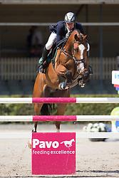 Bles Bart, (NED), El Divo<br /> Finale 6 jarige springpaarden <br /> KWPN Paardendagen Ermelo 2015<br /> © Hippo Foto - Leanjo de Koster