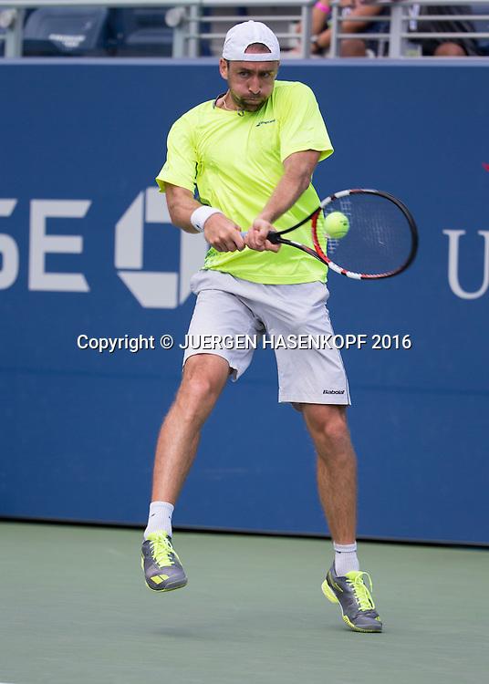 BENJAMIN BECKER (GER)<br /> <br /> Tennis - US Open 2016 - Grand Slam ITF / ATP / WTA -  USTA Billie Jean King National Tennis Center - New York - New York - USA  - 30 August 2016.